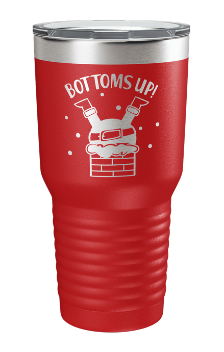Bottoms Up Laser Etched Tumbler