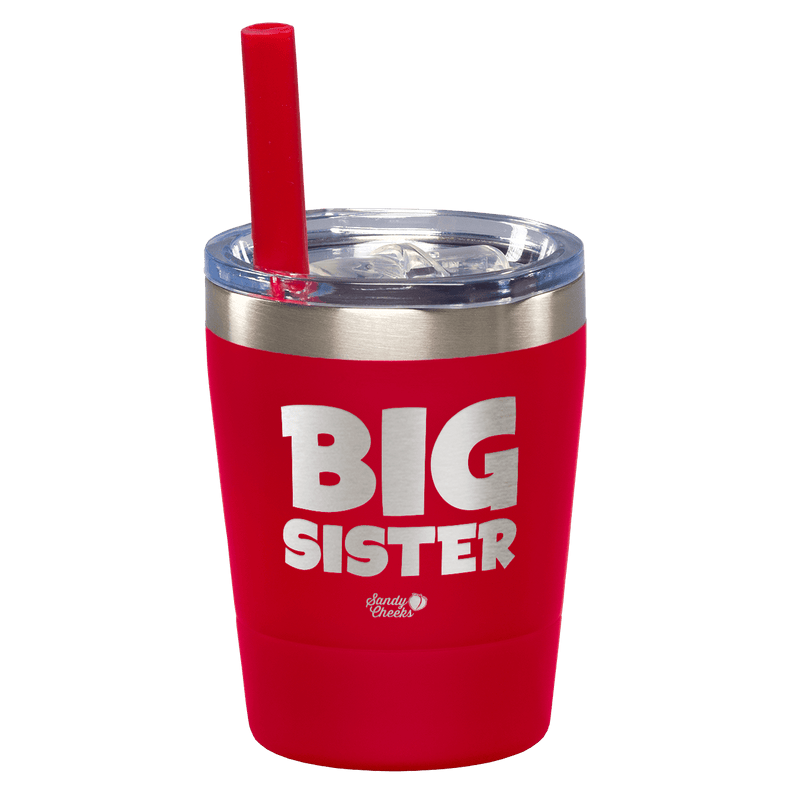 Big Sister Laser Etched Kids Tumbler