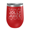 Jolly Juice Laser Etched Wine Cup