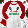 Getting Blitzened Raglan Tee