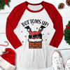 Bottoms Up Raglan Tee