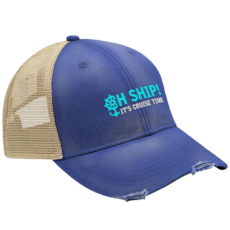 Oh Ship! It's Cruise Time Hat
