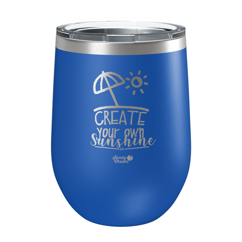Create Your Own Sunshine Laser Etched Wine Cup