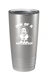 Son Of A Nutcracker Color Printed Tumbler