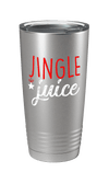 Jingle Juice Color Printed Tumbler