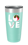 LO VE Color Printed Tumbler
