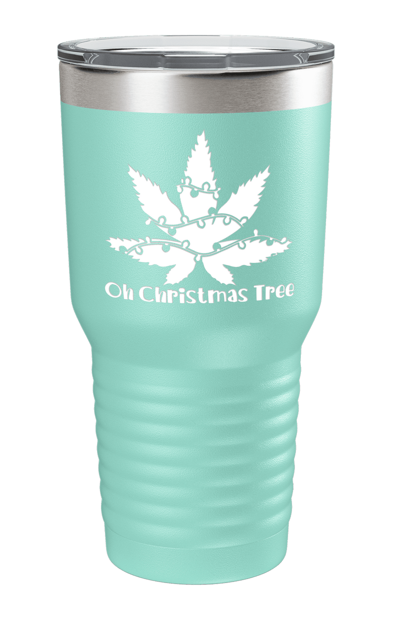 Oh Christmas Tree Color Printed Tumbler