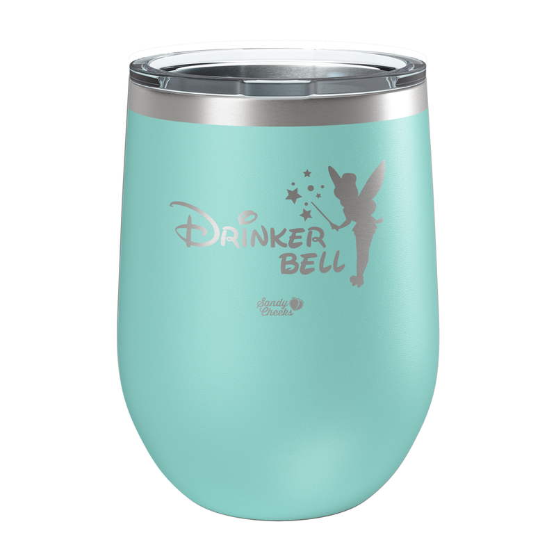 Drinkerbell Laser Etched Wine Cup