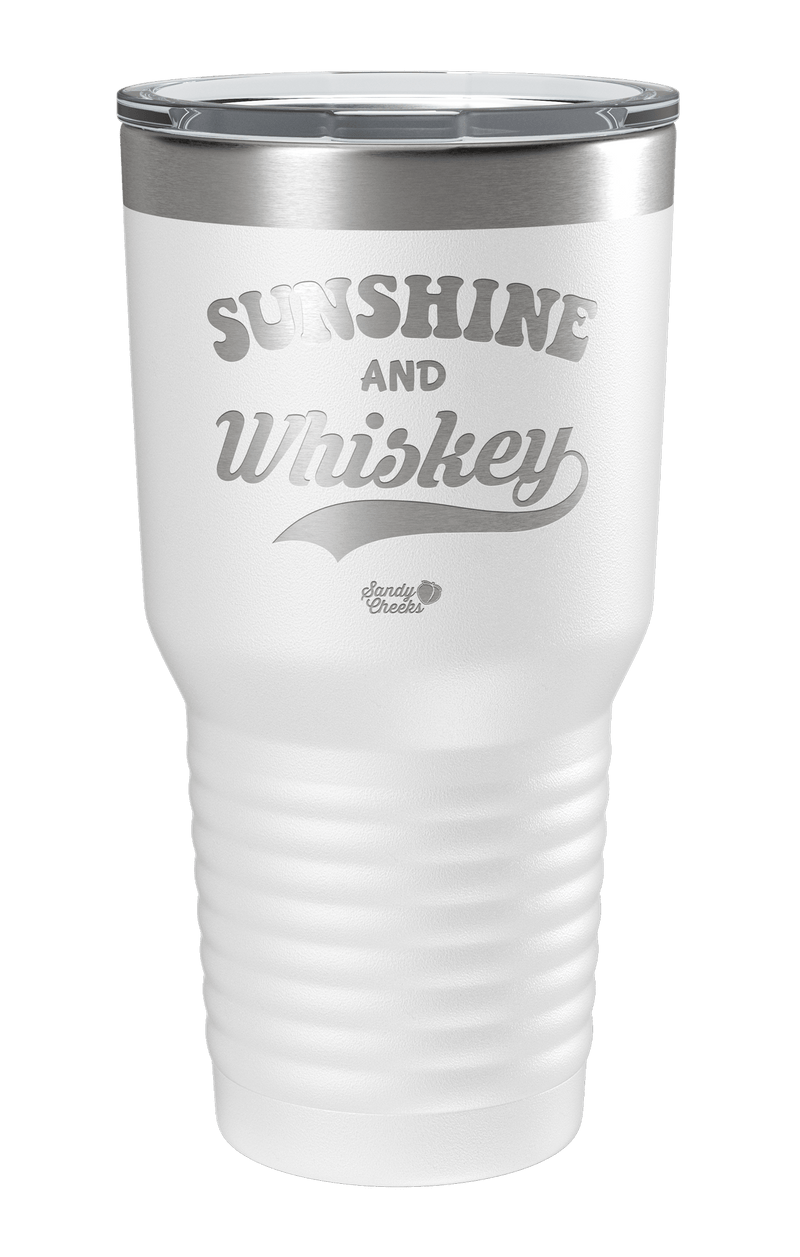 Sunshine & Whiskey Laser Etched Tumbler