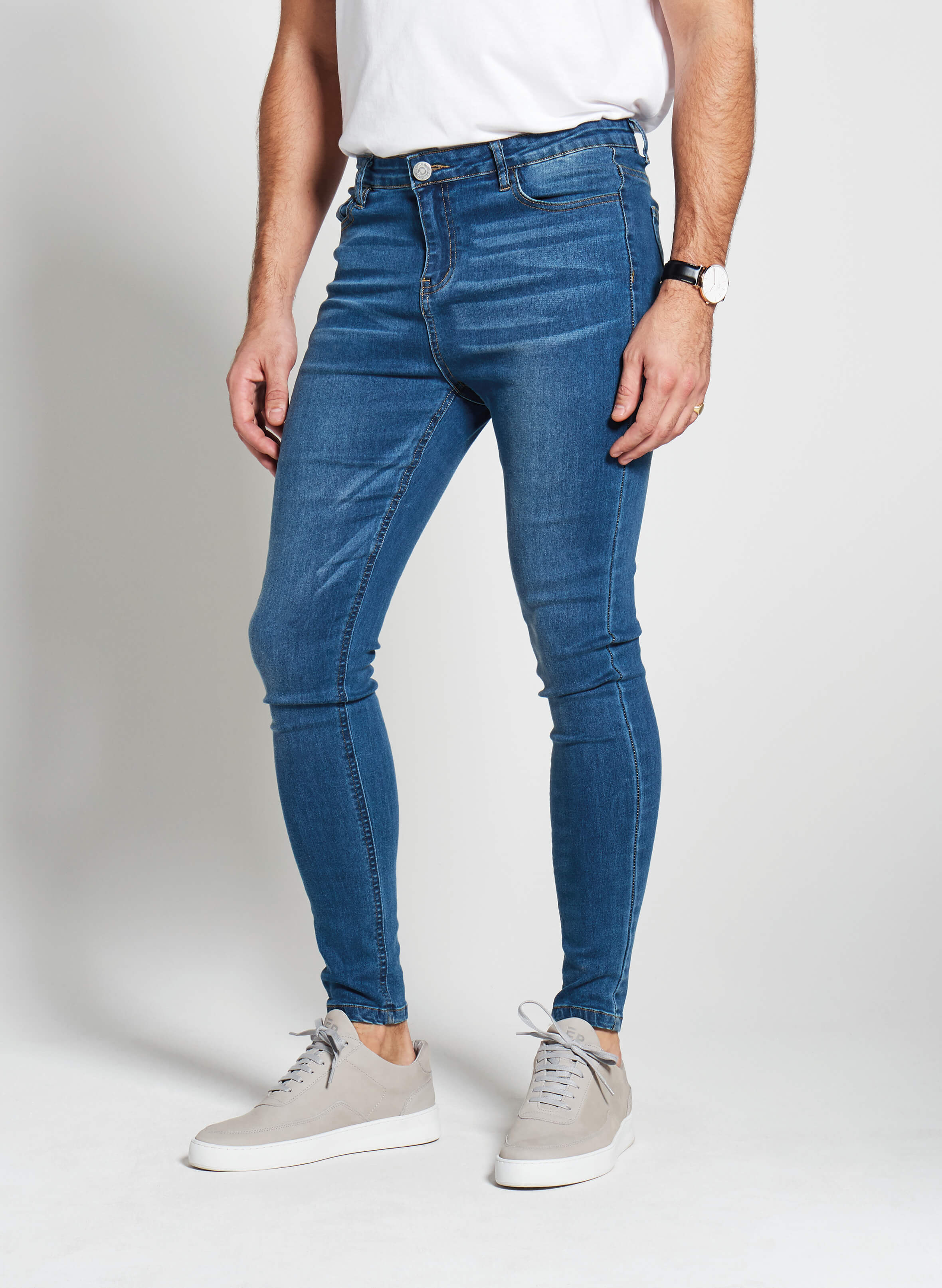 Denim Only® Spray On Jeans - Blue