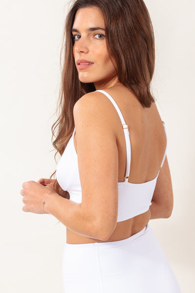 Yemoja Top - Pure White
