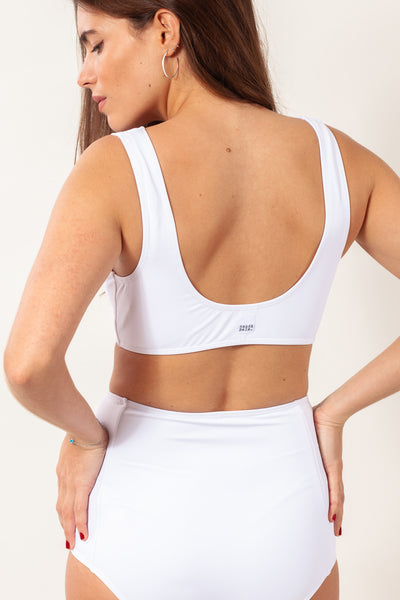 Buluku Top - Pure White