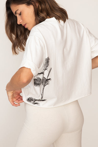 Journey Tee | Natural