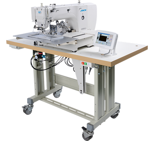 JK-T1310: Computerized, Direct Drive, Programmable, Large Pattern Sewing Machine (130mmx100mm)