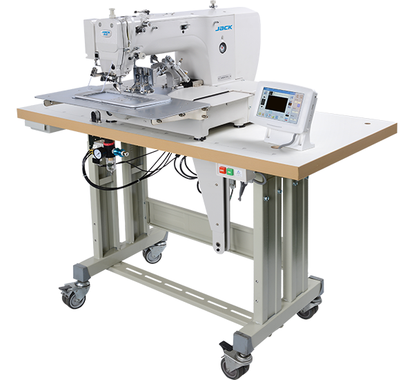 JK-T2210: Computerized, Direct Drive, Programmable, Large Pattern Sewing Machine (200mmx100mm)