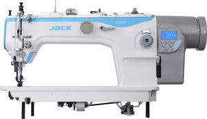 JK-2030G: Computerized, Direct Drive, Heavy Duty, Top/Bottom Feed Lockstitch Machine