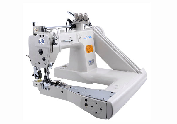 JK-T9270D: Direct Drive, Double Needle, Chainstitch, Feed of the Arm Machine