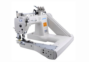 JK-T9280D: Direct Drive, Triple Needle, Chainstitch, Feed of the Arm Machine