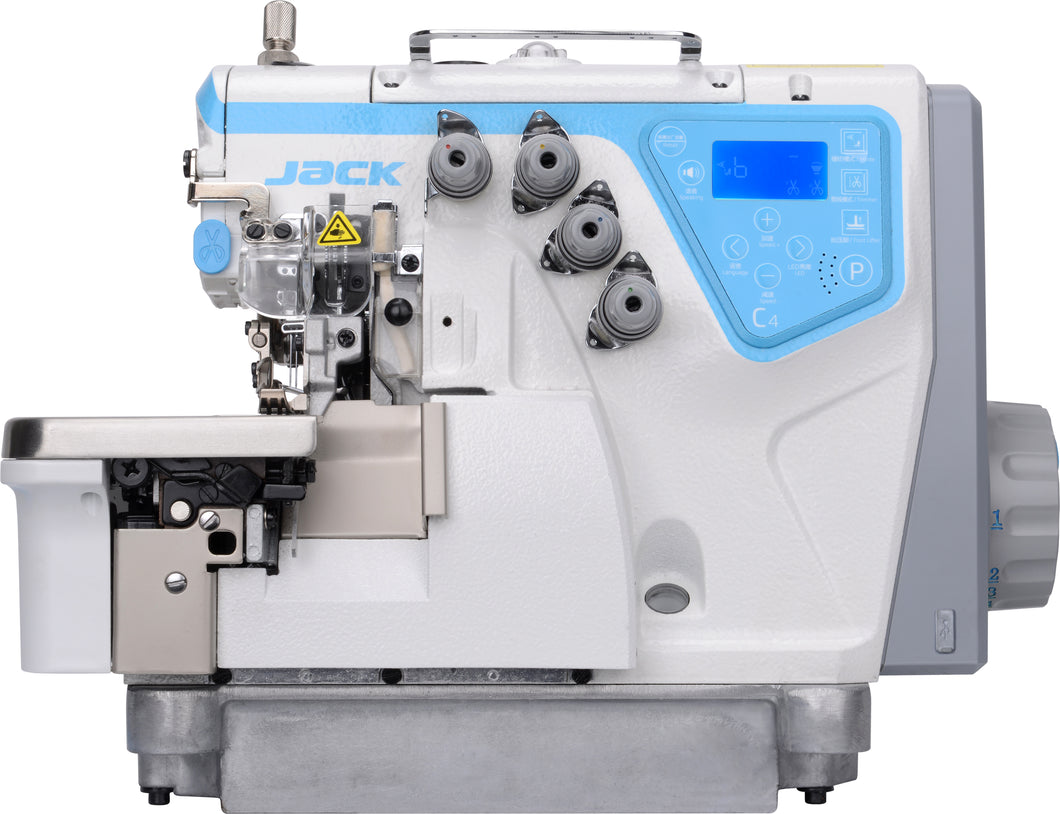 C4: Computerized, Direct Drive, Single Needle, Differential Feed, Overlock Machine (Rolled Hem)