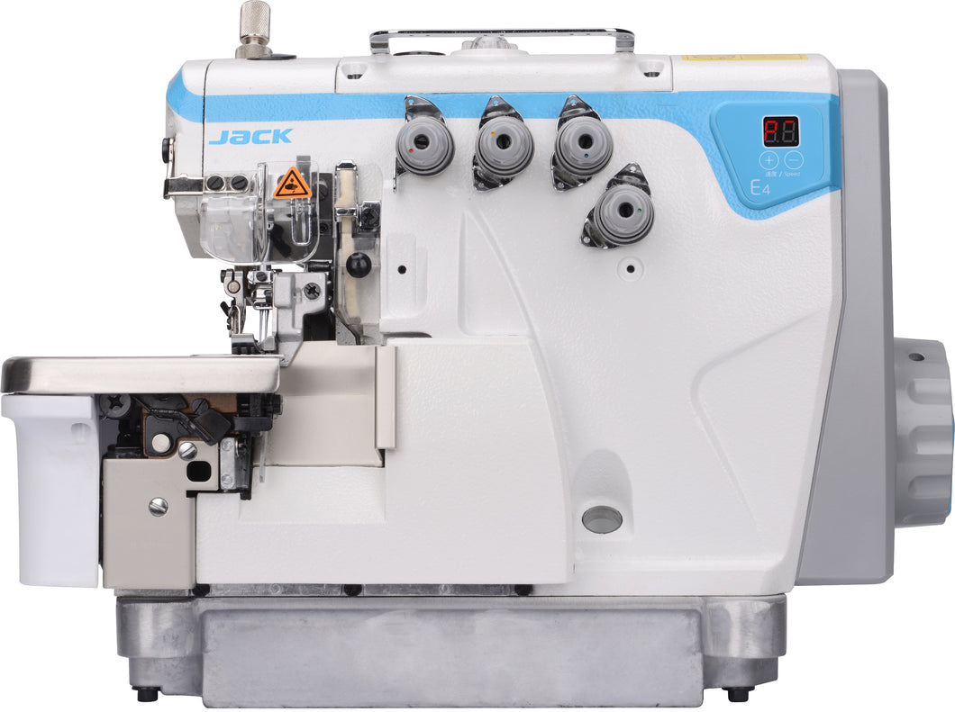 E4: Direct Drive, Double Needle, Differential Feed, Overlock Machine (5 Thread)