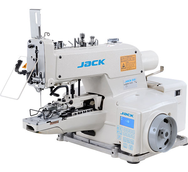 JK-T1377E: Automatic, Direct Drive, Chainstitch, Button Attaching Machine
