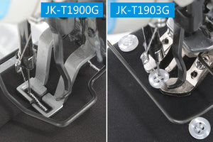JK-T1903G: Computerized, Direct Drive, Lockstitch Button Attaching Machine