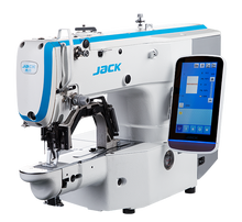 Load image into Gallery viewer, JK-T1906BH: Heavy Duty, Computerized, Direct Drive, Automatic, Large Pattern Sewing Machine (60mmx40mm)
