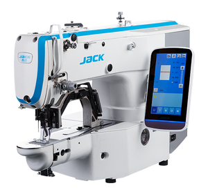 JK-T1900GS: Computerized, Direct Drive, Automatic, Bartack Machine