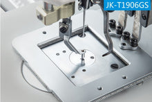 Load image into Gallery viewer, JK-T1906GH: Heavy Duty, Computerized, Direct Drive, Automatic, Large Pattern Sewing Machine (60mmx40mm)
