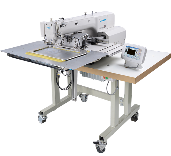 JK-T3020K: Computerized, Direct Drive, Programmable, Template Sewing Machine (300mmx200mm)