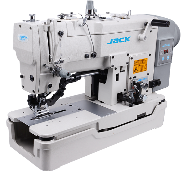 JK-T783E: Automatic, Direct Drive, Buttonhole Machine with Automatic Thread Trimmer and Presser Foot Lifter