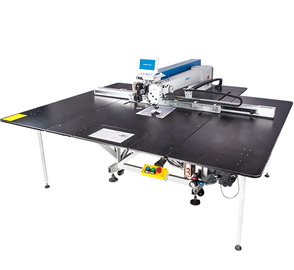 M90-C: Computerized, Direct Drive, Belt Driven, Programmable, Large Area Template Sewing Machine (1400mmx830mm)