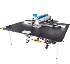 M90-A: Computerized, Direct Drive, Twin Gear Driven, Programmable, Large Area Template Sewing Machine (1400mmx800mm)