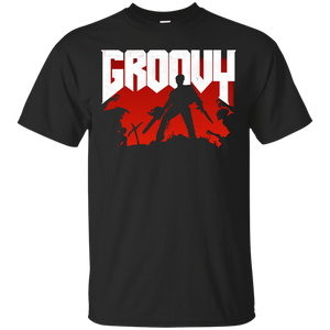 13dd5bb3 Doomy and Groovy T-Shirt - teeshirtperfect.com