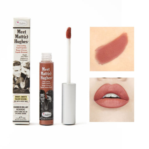theBalm Meet Matt(e) Hughes - liquid lipstick - Committed