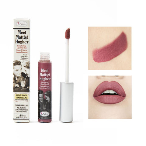 theBalm Meet Matt(e) Hughes - long lasting liquid lipstick - Sincere