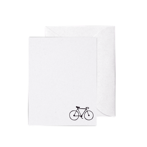 Bicycle A2 Letterpress Cards