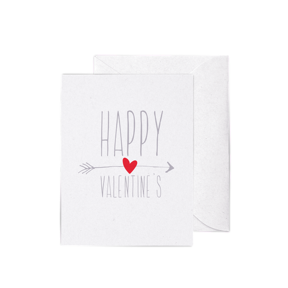 Be My Valentine A2 letterpress cards