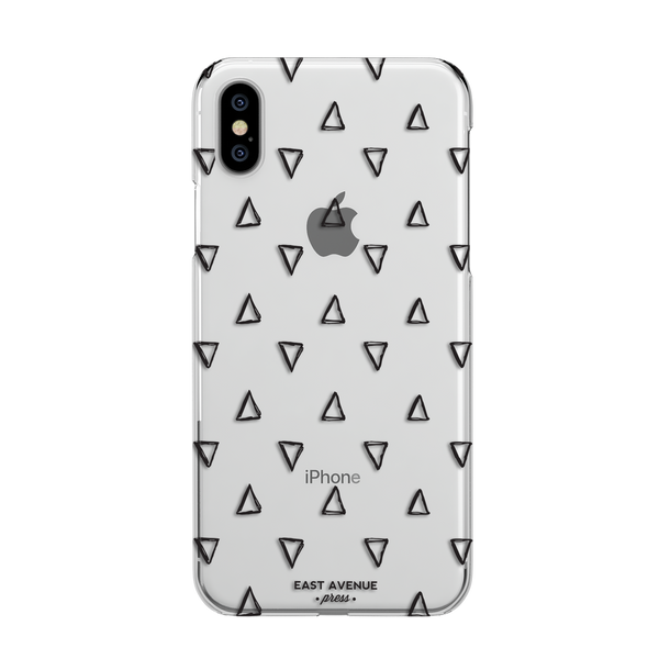 Black Triangle iPhone Case
