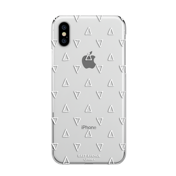 White Triangle iphone case