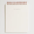 Waves Letterpress Notebook