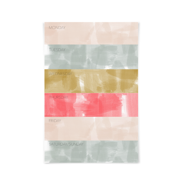 Color Block notepad