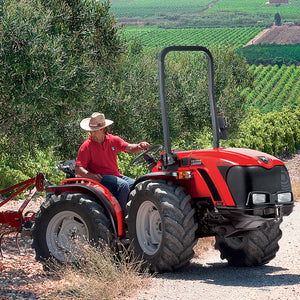 <strong>SN 5800 V</strong> Major 50 HP ARTICULATED TRACTOR - BASIC CONFIGURATION, 4WD EQUAL SIZE TYRES 7.50-16 ADJUSTABLE RIMS