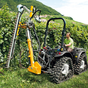 <strong>MACH 4 R</strong> - 75 HP 4WD REVERSIBLE ARTICULATED QUADTRACK - BASIC CONFIGURATION