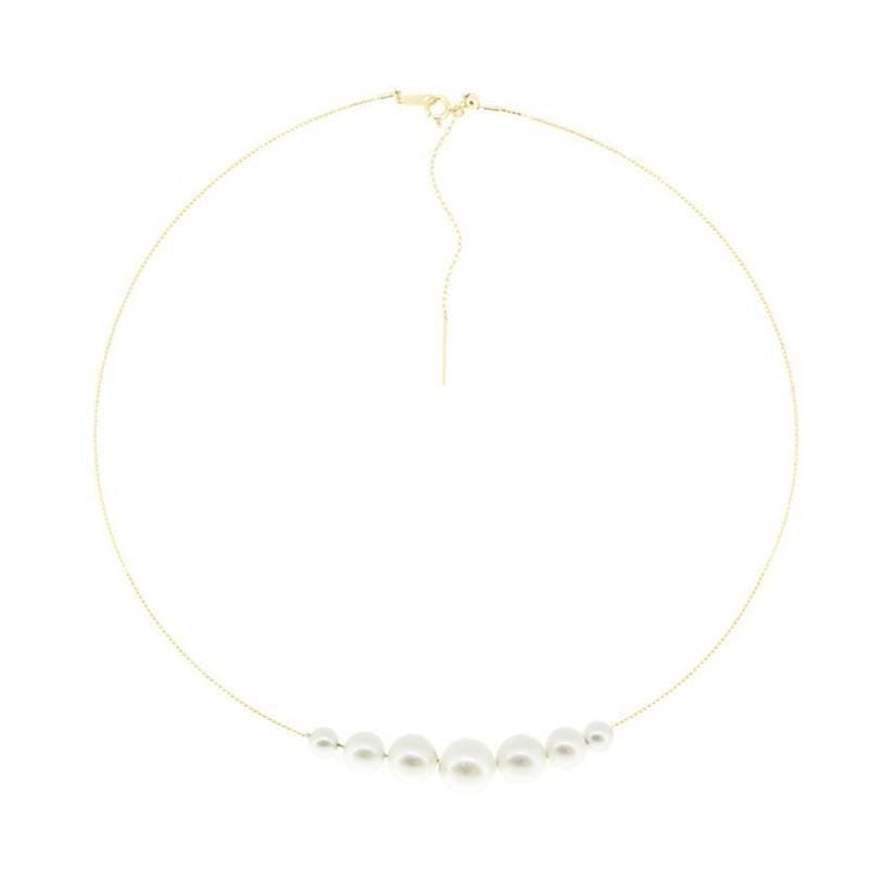 Seven Pearl Strand Necklace - LoveAudryRose.com