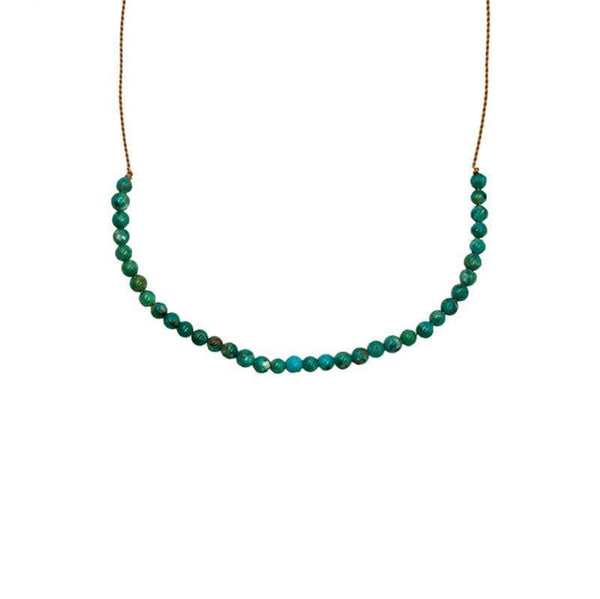 Turquoise Vibe Necklace - LoveAudryRose.com