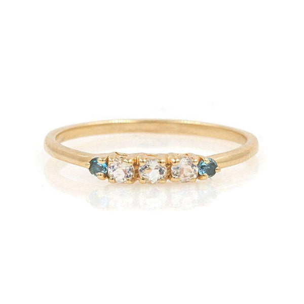Riley Moonstone Aqua Band*** - LoveAudryRose.com