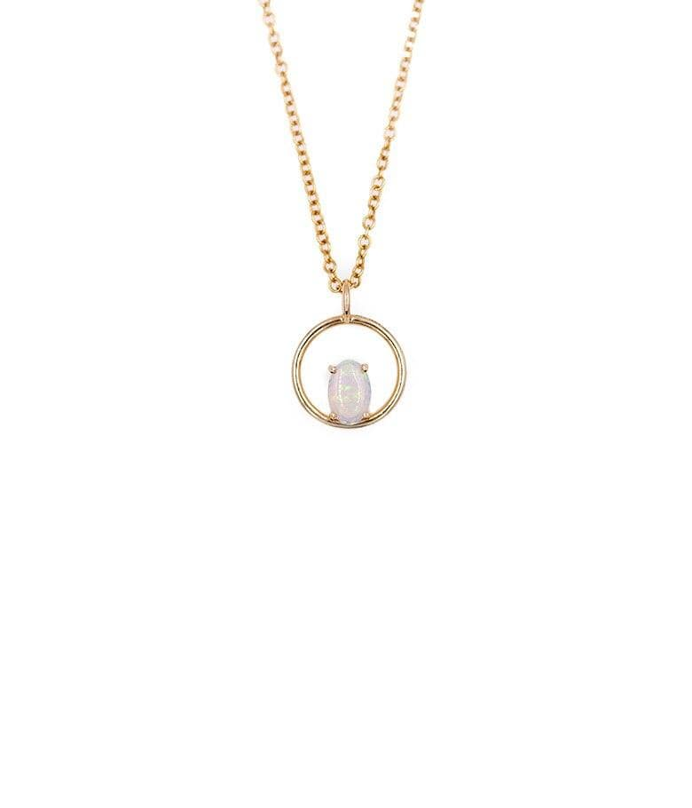 Opal Balance Necklace
