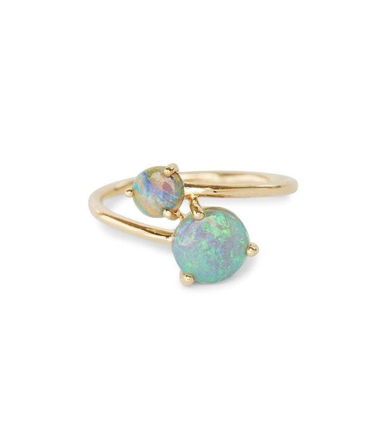 Opal Loop Ring - LoveAudryRose.com
