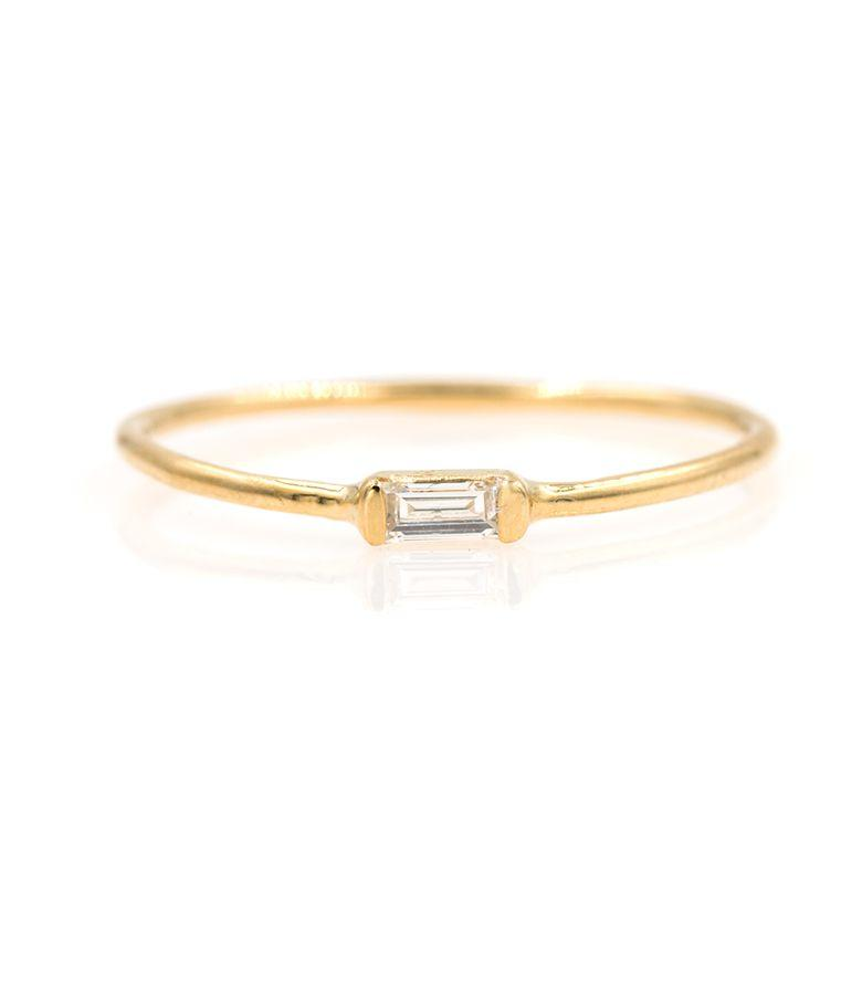 Baguette Diamond Ring - LoveAudryRose.com